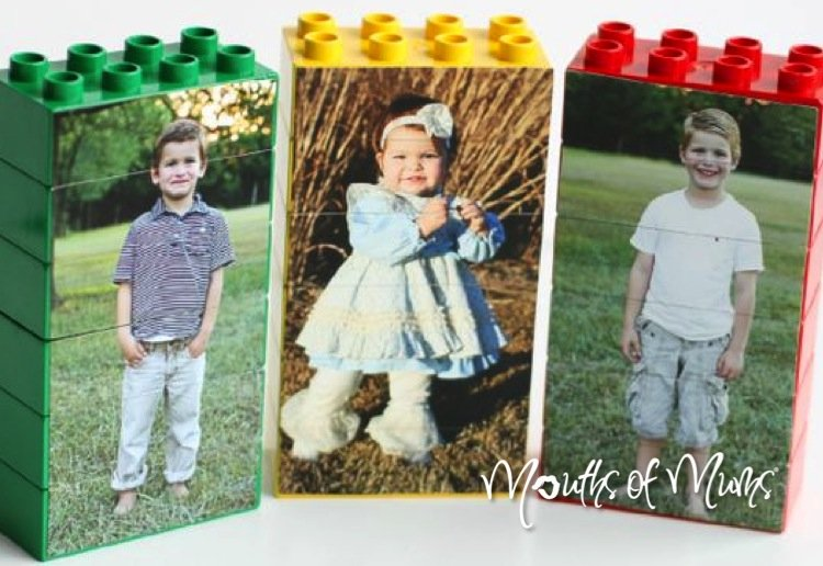 How to make Lego photo puzzles
