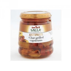 Sacla Char Grilled Capsicums