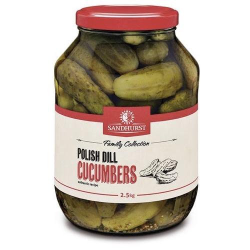 Sandhurst Polish Cucumbers