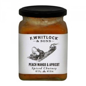 f whitlock and sons peach mango and apricot spiced chutney rate it