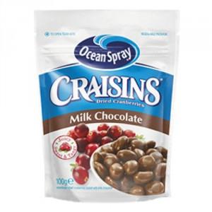 ocean spray milk chocolate craisins