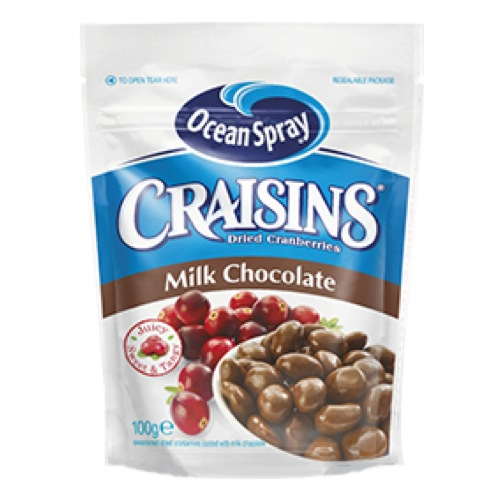 ocean spray milk chocolate craisins