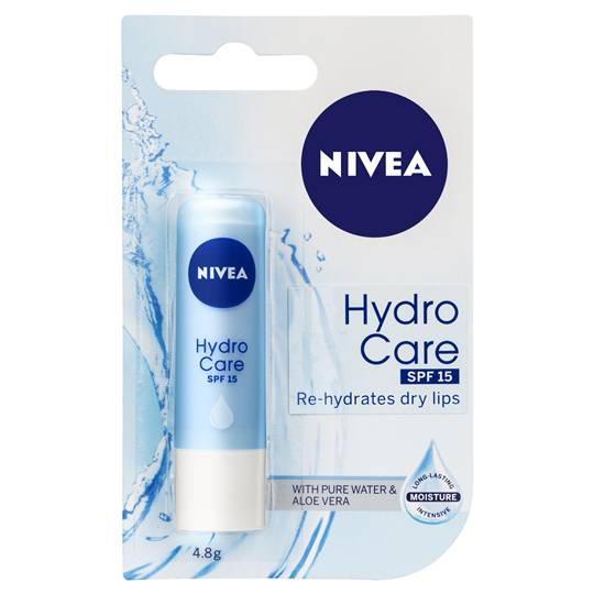 Nivea Lip Care Balm Hydro Care