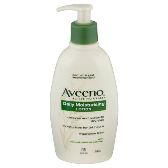Aveeno Active Body Moisturiser Daily Moisturising Lotion