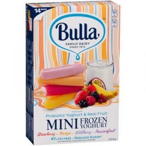 Bulla Mini Frozen Yoghurt Assorted Flavours
