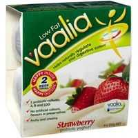 Vaalia Yoghurt Low Fat Strawberry