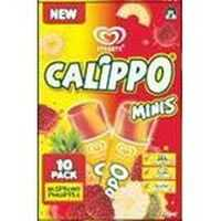 Streets Calippo Mini Ice Blocks Raspberry Pineapple