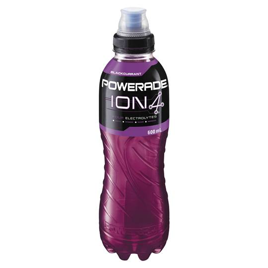 Powerade Blackcurrant Flo Cap