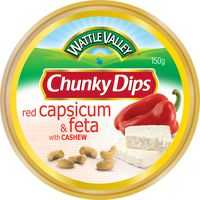 Wattle Valley Chunky Dip Roasted Capsicum