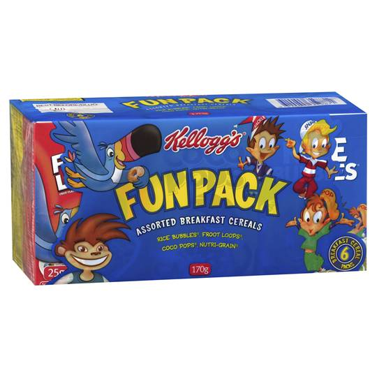 Kellogg's Fun Pack Assorted Cereals