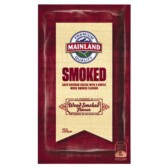Mainland Smoked Cheddar Cheese