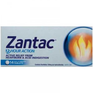 Zantac Heartburn & Indigestion Relief Tablets