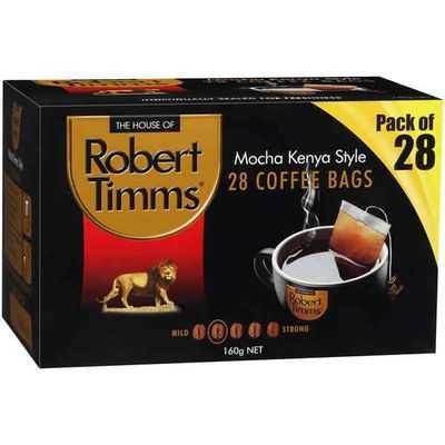 Robert Timms Coffee Bags Mocha Kenya Style