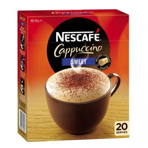 Nescafe Cafe Menu Sweet Cappucino