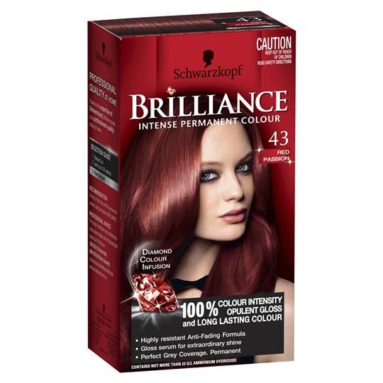 Schwarzkopf Brilliance 43 Red Passion