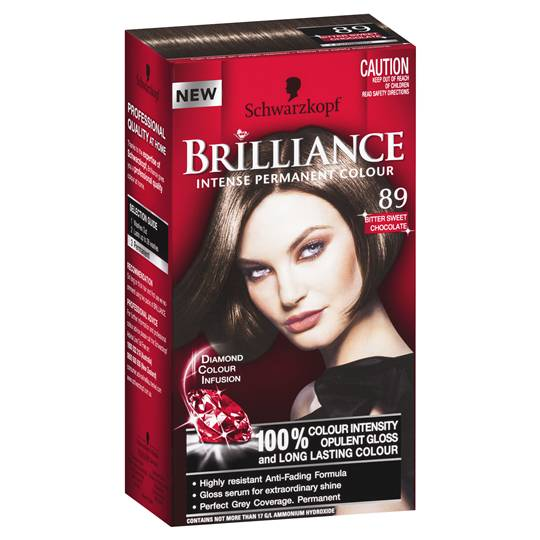 Schwarzkopf Brilliance 89 Bitter Sweet Chocolate