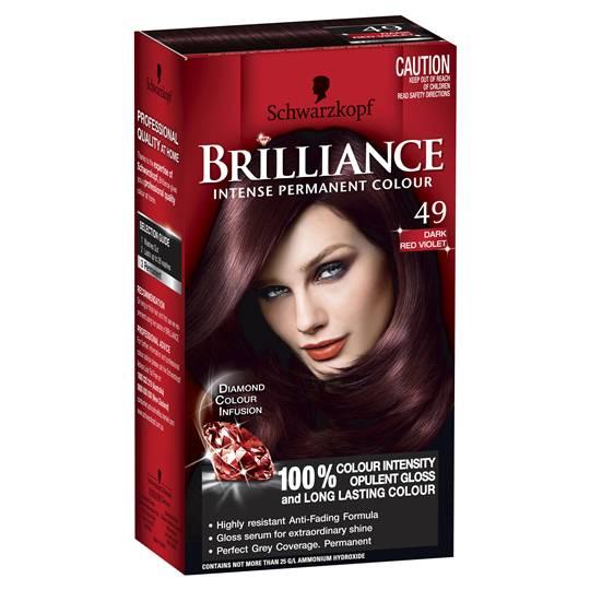 Schwarzkopf Brilliance 49 Dark Red Violet