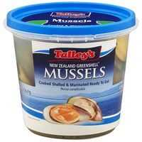 Talleys Chilled Mussels Marinated Plain