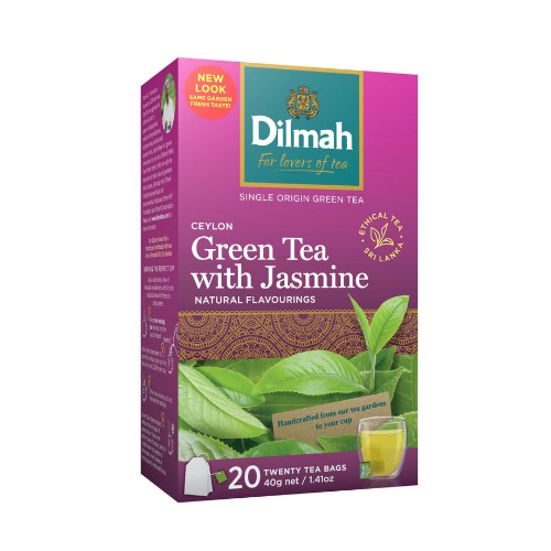 image of Dilmah Green Tea Jasmine 20s
