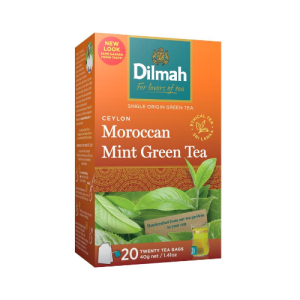 Image of Dilmah Green Tea Moroccan Mint 20s