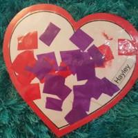 Laminated Love Hearts