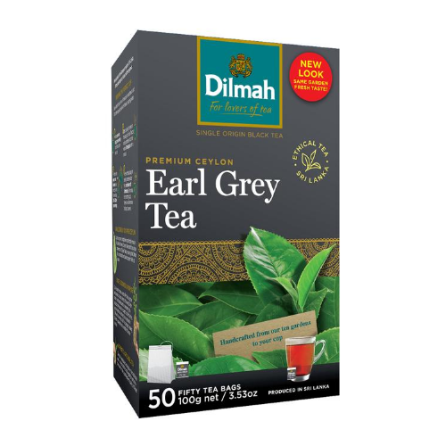Image of Dilmah Earl Grey Tea Bags 50s