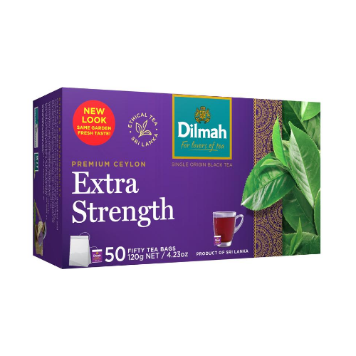 Image of Dilmah Extra Strength Tea Bags 50s