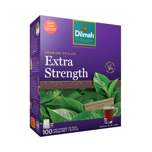 Image of Dilmah Extra Strength Tea Bags 100s