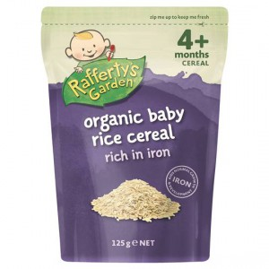 Rafferty's Garden Food 4 Months+ Organic Baby Rice