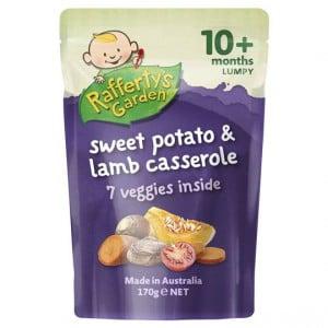 Rafferty's Garden Food 10 Months Sweet Potato & Lamb Casserole