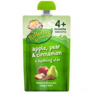 Rafferty's Garden Food 4 Months+ Apple, Pear & Cinnamon
