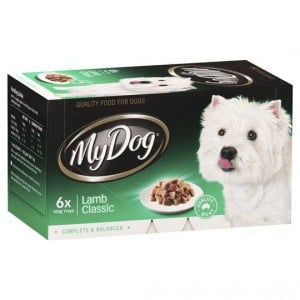 My Dog Adult Dog Food Classic Lamb Multipack