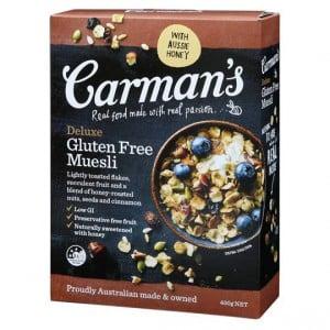 Carman's Deluxe Gluten Free Muesli