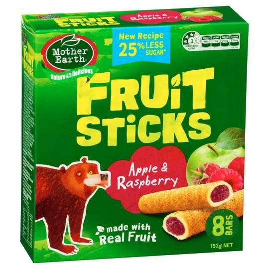 Mother Earth Fruit Sticks Apple & Raspberry