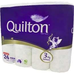 Quilton Toilet Tissue Aqua 190ss