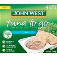 John West Tuna To Go Plain