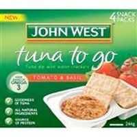John West Tuna To Go Tomato And Basil