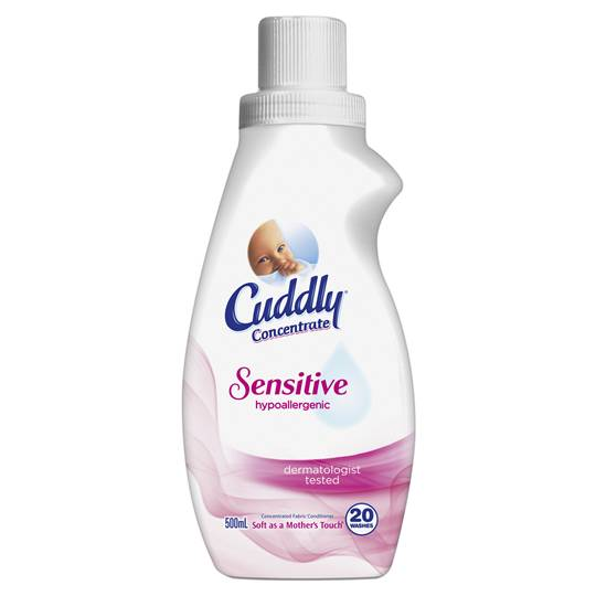 Cuddly Fabric Softener Ultra Conc Sensitive