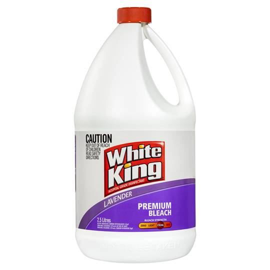 White King Bleach Lavender All Purpose
