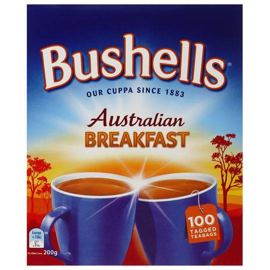 Bushells Black Tea Australian Breakfast