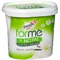 Yoplait Forme French Vanilla Yoghurt