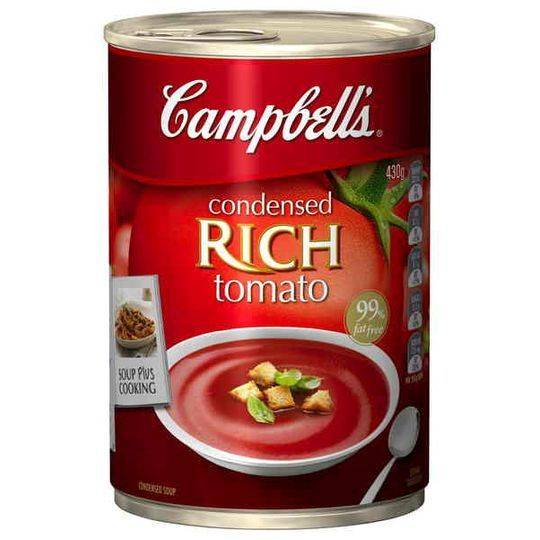 Campbell's Canned Soup Condensed Rich Tomato