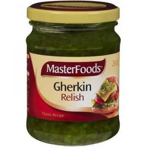 Masterfoods Relish Gherkin