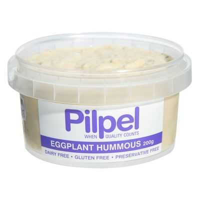 Pilpel Dip Eggplant Hummous