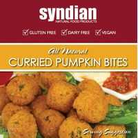 Syndian Curried Pumpkin Bites
