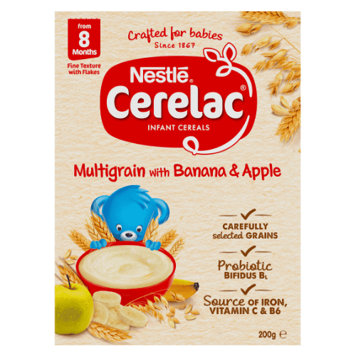 CERELAC Infant Cereal with Banana and Apple