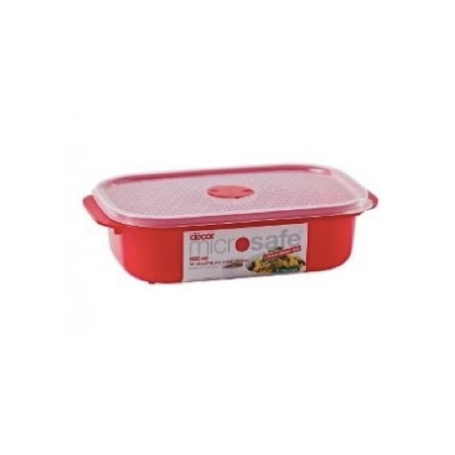 Decor Microwave Safe Container Jewel Oblong