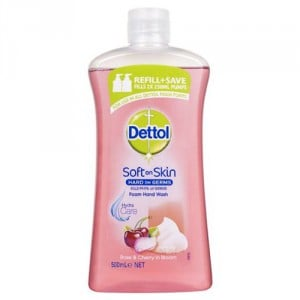 Dettol Foam Body Wash Rose & Cherry Refill