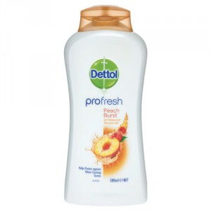 Dettol Shower Gel Peach Burst