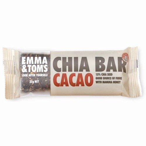 Emma & Toms Chia Bar Chocolate